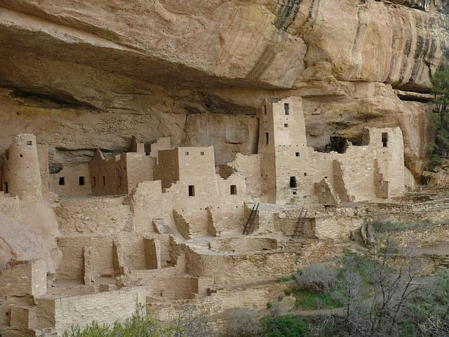 abitazioni degli indiani anasazi