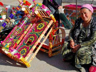 Uzbekistan via della seta mercato